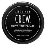 American Crew Heavy Hold Pomade - Помада для укладки жесткой фиксации 85 г