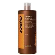 """Шампунь """"Brelil Numero Beauty Shampoo With Macassar Oil"""" 1000мл для красоты волос с макассаровым маслом и кератином"""