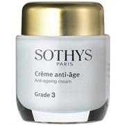 """Крем """"Sothys Anti-Ageing Cream Grade 3 активный"""" 50мл для нормальной и комбинированной кожи"""