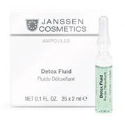 "Детокс-Сыворотка ""Janssen Cosmetics Ampoules Detox Fluid"" в ампулах 7 х 2мл"