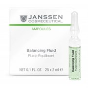 Janssen Cosmetics Ampoules Balancing Fluid (combination skin) - Балансирующий концентрат для ухода за комбинированной кожей 7 х 2 мл
