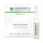 Janssen Cosmetics Ampoules Balancing Fluid (combination skin) - Балансирующий Концентрат для Ухода за Комбинированной Кожей 25 х 2мл