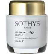 """Крем """"Sothys Anti-Ageing Comfort Cream Grade 2 активный"""" 50мл для нормальной и сухой кожи"""