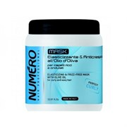 """Маска """"Brelil Professional Numеro Curly Elasticizing Mask with Olive Oil"""" 1000мл с оливковым маслом для вьющихся и волнистых волос"""