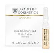 "Сыворотка-лифтинг ""Janssen Cosmetics Ampoules Skin Contour Fluid Anti-age"" в ампулах 25 х 2мл с пептидами, стимулирующими синтез эластина"