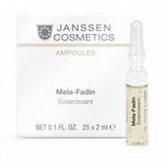 Janssen Cosmetics Ampoules Мela-Fadin (skin lightening) - Осветляющие ампулы 7 х 2 мл