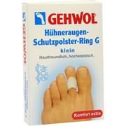 """Гель-кольцо """"Gehwol Huhneraugen Schutzpolster Ring G -защитное"""" 3шт с уплотнением для пальцев ног"""