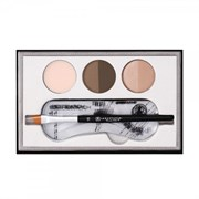 ANASTASIA Beverly Hills Kit Beauty Express BLONDE - Набор для Глаз и Бровей 3шт