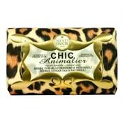 "Мыло ""NESTI DANTE CHIC ANIMALIER Bronze Leopard  Бронзовоый Леопард (шарм и заряд энергии)"" 250мл"