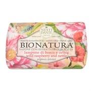 """Мыло """"NESTI DANTE BIONATURA Wild Raspberry & Nettle  Малина и Крапива (очищение и расслабление)"""" 250мл"""