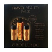 Orofluido Travel Beauty Pack - Набор для путешествий 2х50 мл + 25 мл