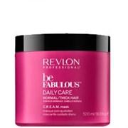 """Маска """"Revlon Professional Be Fabulous C.R.E.A.M. Mask For Normal Thick Hair"""" 500мл для нормальных/густых волос"""