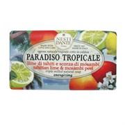 "Мыло ""NESTI DANTE PARADISO TROPICALE Tahitian Lime & Mosambi Peel  Лайм и Мангустин (очищение и питание)"" 250мл"