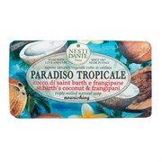 """Мыло """"NESTI DANTE PARADISO TROPICALE St. Bath Coconut & Frangipane  Кокос и Франжипани (очищение и увлажнение)"""" 250мл"""
