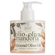 """Жидкое мыло """"NESTI DANTE ORGANIC Liqud Soup Almond oOlive Oil""""  300мл с миндалем и оливковым маслом"""