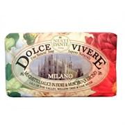"""Мыло """"NESTI DANTE DOLCE VIVERE Milano  Милан (расслабляющее и антисстресовое)"""" 250мл"""