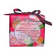 "Мыло ""NESTI DANTE GLI OFFICINALI Camellia & Cinnamon  Камелия и Корица (успокаивает и балансирует)"" 200мл"