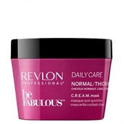 "Маска ""Revlon Professional Be Fabulous C.R.E.A.M. Mask For Normal Thick Hair"" 200мл для нормальных/густых волос"