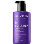"Кондиционер ""Revlon Professional Be Fabulous C.R.E.A.M. Conditioner For Fine Hair"" 750мл для тонких волос"