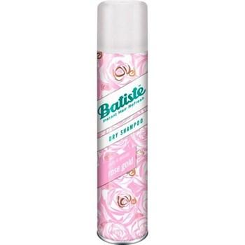 "Сухой Шампунь ""Batiste Dry shampoo Rose Gold Pretty & Delicate"" 200мл с ароматом розы и жасмина - фото 55613"