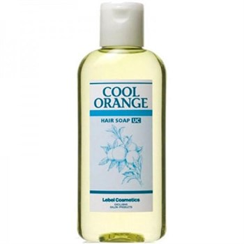 "Шампунь ""Lebel Cool Orange Hair Soap Ultra Cool Ультра Холодный Апельсин"" 200мл для волос - фото 55642"