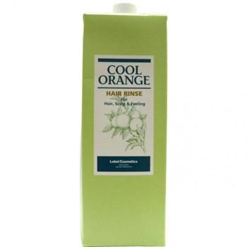 "Бальзам-ополаскиватель ""Lebel Cool Orange Hair Rinse Холодный Апельсин"" 1600мл - фото 56229"