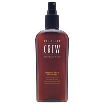"""Спрей-гель """"American Crew Classic Medium Hold Spray Gel"""" 250мл для волос средней фиксации - фото 56595"""