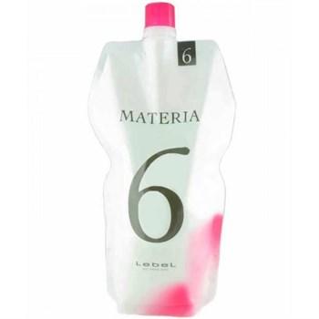 Lebel Materia Oxy 6% - Оксидант для смешивания с краской Materia 1000 мл - фото 57226