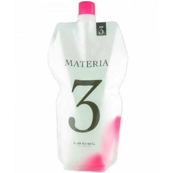 Lebel Materia Oxy 3% - Оксидант для смешивания с краской Materia 1000 мл - фото 57228