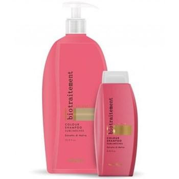 "Шампунь ""Brelil Professional Bio Traitement Colour Sublimeches Shampoo"" 1000мл для нейтрализации желтизны - фото 62679"