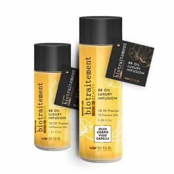 BRELIL Professional Bio Traitement Beauty BB Oil Box - Многофунциональное масло для волос, лица и тела 12 х 30 мл - фото 62736