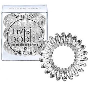 Invisibobble ORIGINAL Crystal Clear - Резинка-браслет для волос, цвет Прозрачный 3шт - фото 62823