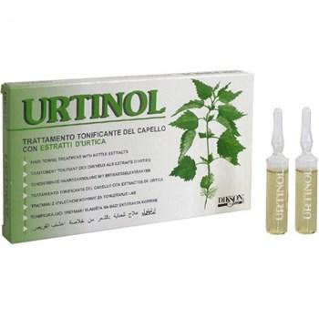 DIKSON AMPOULE URITINOL - Тонизирующее противосеборейное ампульное средство с экстрактом крапивы для жирной кожи головы 10 х 10мл - фото 62961