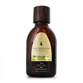 Macadamia natural oil Professional Nourishing Moisture Oil Treatment - Питательное увлажняющее масло 30 мл. - фото 63271