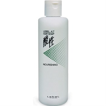 """Шампунь """"Lebel рH 4.7 Hair Nourishing Soap Жемчужный"""" 400мл для окрашенных волос - фото 63532"""