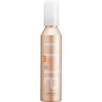 """Молочко """"Lebel Trie Curl Milk 3 увлажняющее"""" 140мл для укладки вьющихся волос и волос с химической завивкой - фото 63892"""