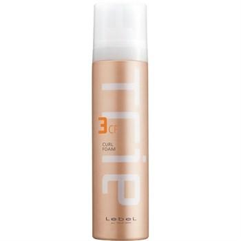 Lebel Trie Curl Foam 3 - Увлажняющая пена для вьющихся волос и волос с химической завивкой 200 гр - фото 63893