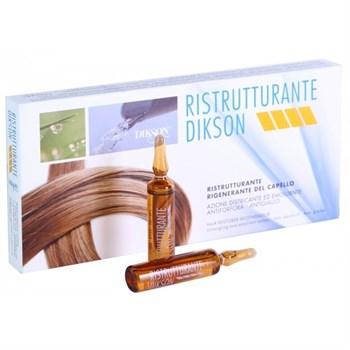 DIKSON AMPOULE RISTRUTTURANTE - Восстанавливающий комплекс мгновенного действия для очень сухих и поврежденных волос 12 х 12мл - фото 64062