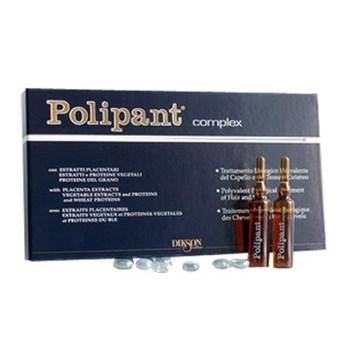 DIKSON AMPOULE Polipant Complex - Уникальный биологический ампульный препарат с протеинами, плацентарными экстрактами для лечения выпадения волос 12 х 10мл - фото 64063