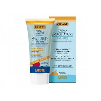 """Крем """"Guam Body Cremas Contro le Smagliature против растяжек"""" 150мл для тела и груди - фото 64447"""