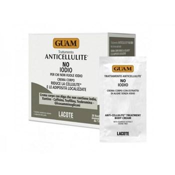 """Крем """"Guam Anticellulite No Iodio Гуам антицеллюлитный"""" 20 х 12мл без йода - фото 64450"""