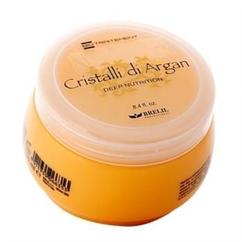 """Маска """"Brelil Professional Bio Traitement Cristalli di Argan Mask"""" 250мл для волос с маслом Аргании и Алоэ - фото 66233"""