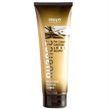 DIKSON NUANCE Nuance Maschera Raviva Color for Brown and Dark Blond Hair - Для брюнеток и русых волос 250мл - фото 68280