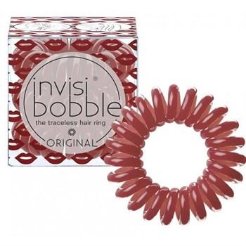 Invisibobble ORIGINAL Marilyn Monred - Резинка-браслет для волос, цвет Утонченный Красный 3шт - фото 69086