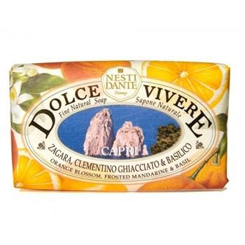 """Мыло """"NESTI DANTE DOLCE VIVERE Capri  Капри (расслабляющее и очищающее)"""" 250мл - фото 70067"""