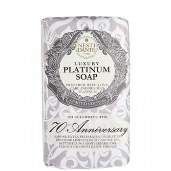 "Мыло ""NESTI DANTE ANNIVERSARY 70th Anniversary Platinum Soap  Юбилейное Платиновое"" 250мл для всех типов кожи - фото 70075"