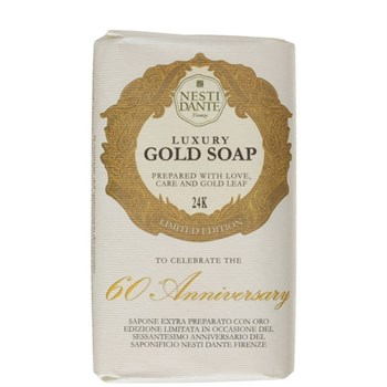 "Мыло ""NESTI DANTE ANNIVERSARY 60th Anniversary Gold Soap  Юбилейное Золотое"" 250мл для всех типов кожи - фото 70078"