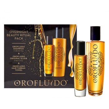 Orofluido Overnight Beauty Ritual Set - Набор для интенсивного ухода 200 мл+50 мл - фото 70140
