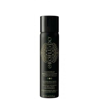 Orofluido Medium Hairspray - Лак для волос средней фиксации 75 мл - фото 70141