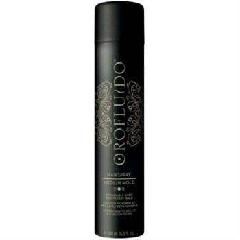 Orofluido Medium Hairspray - Лак для волос средней фиксации 500 мл - фото 70142
